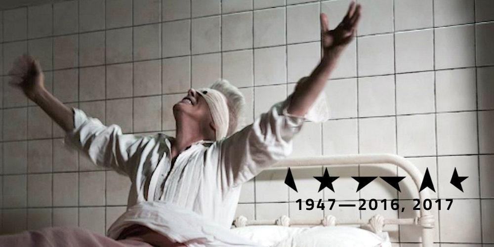 David Bowie as Lazarus. Black Star. No Plan.