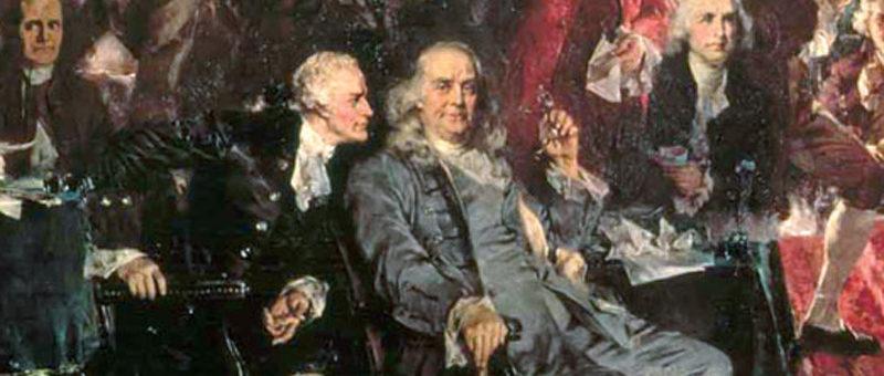 Alexander Hamilton y Benjamin Franklin —Voz Abierta
