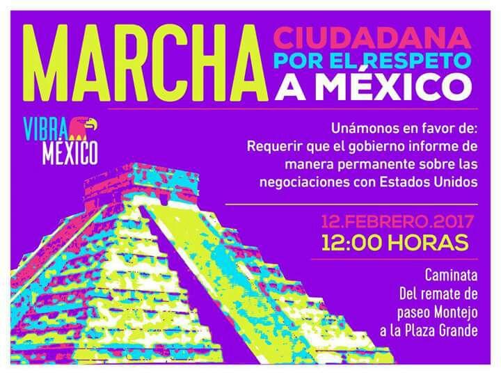 Marcha Vibra Mérida —Voz Abierta, vía Vibra México