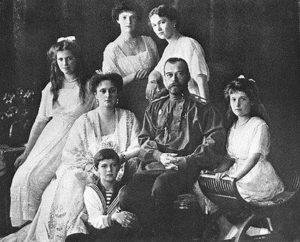 El zar Nicolas y su familia