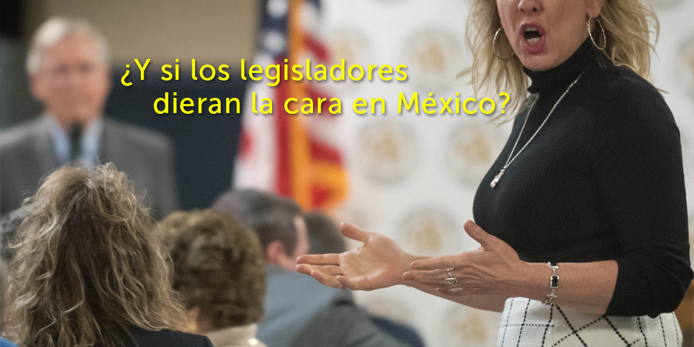 Mitch McConnell town hall meeting —Voz Abierta