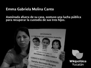 Posicionamiento de Wikipolítica sobre Emma Molina