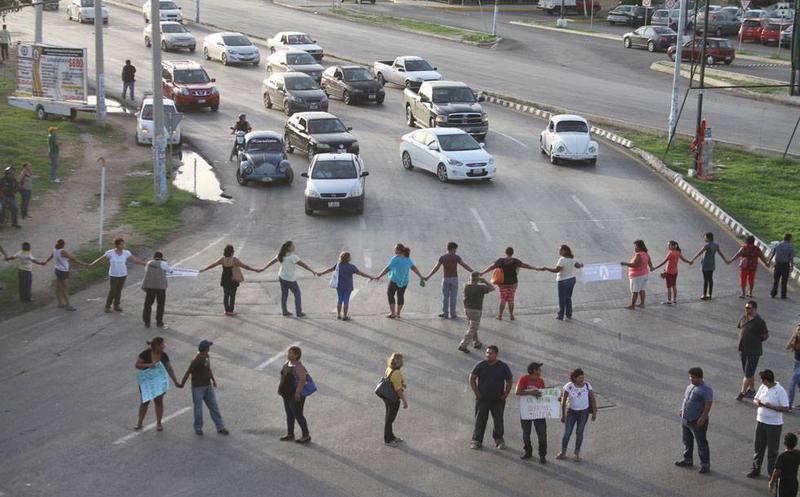 protestas Mérida Yucatán