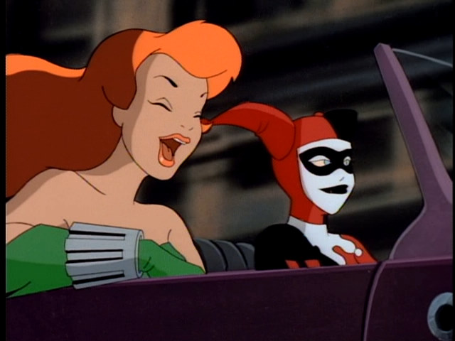Harley and Ivy, Rosebud 2, Batman the Animated Series, Warner Bros. Animation — Voz Abierta