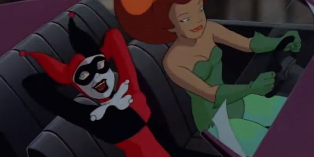 Harley and Ivy, Rosebud, Batman the Animated Series, Warner Bros. Animation — Voz Abierta