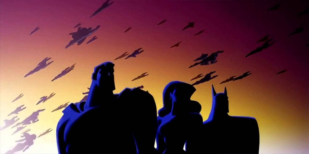 Justice League Unlimited, shaded, Warner Bros. Animation — Voz Abierta