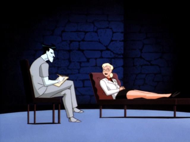 Mad Love, Harlene Quinzel, Joker, inverted therapy, Warner Bros. Animation — Voz Abierta