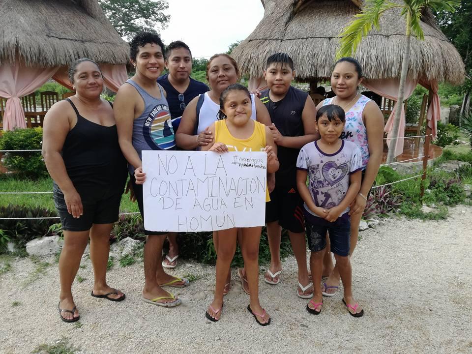 contaminación cenotes Homún Yucatán 6