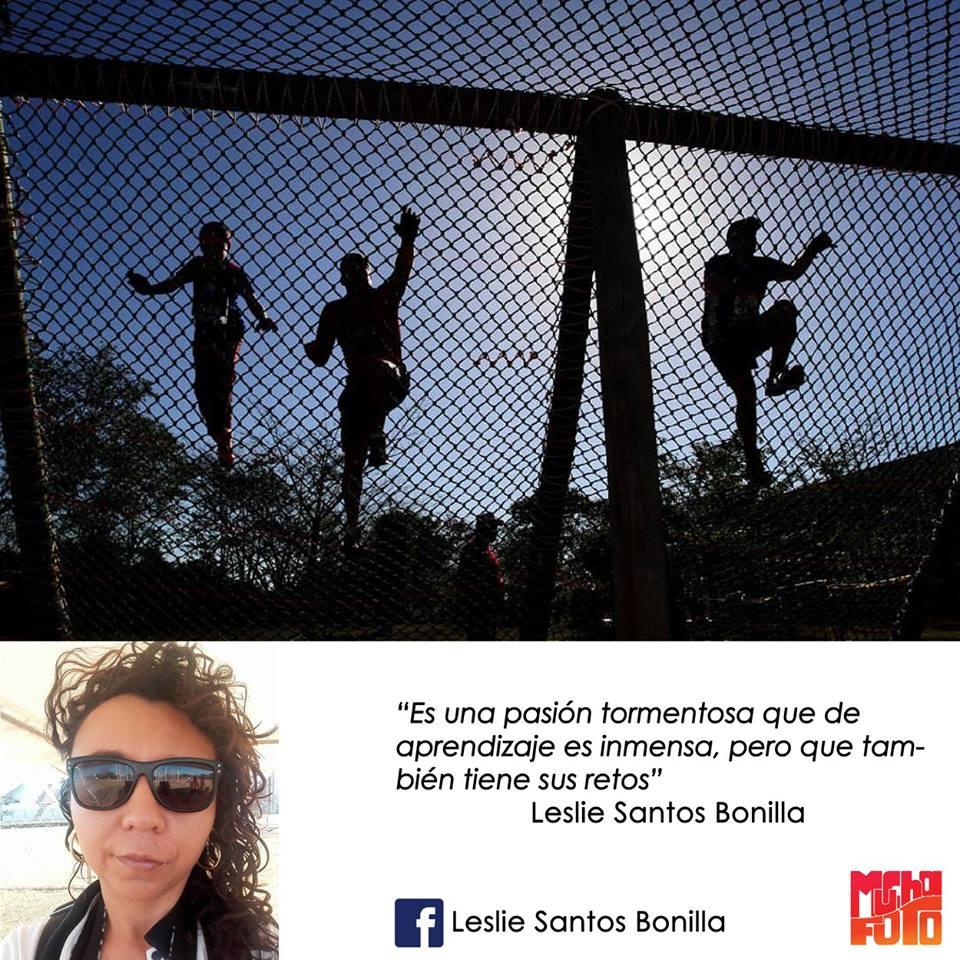 que es la fotografía Leslie Santos Bonilla