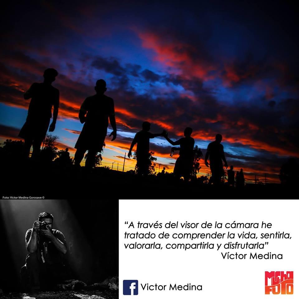 que es la fotografía Víctor Medina