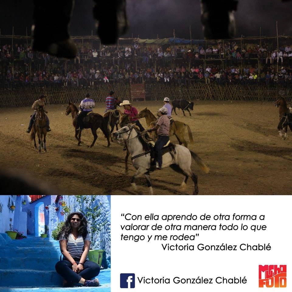 que es la fotografia Victoria González Chablé