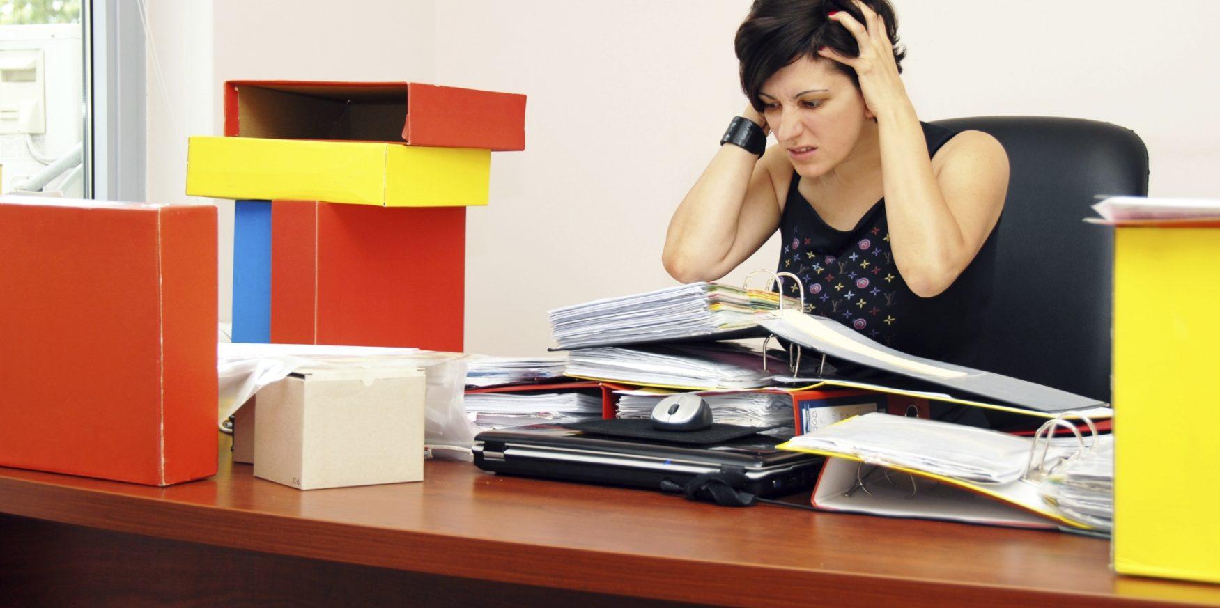 Estrés oficina – Voz Abierta
