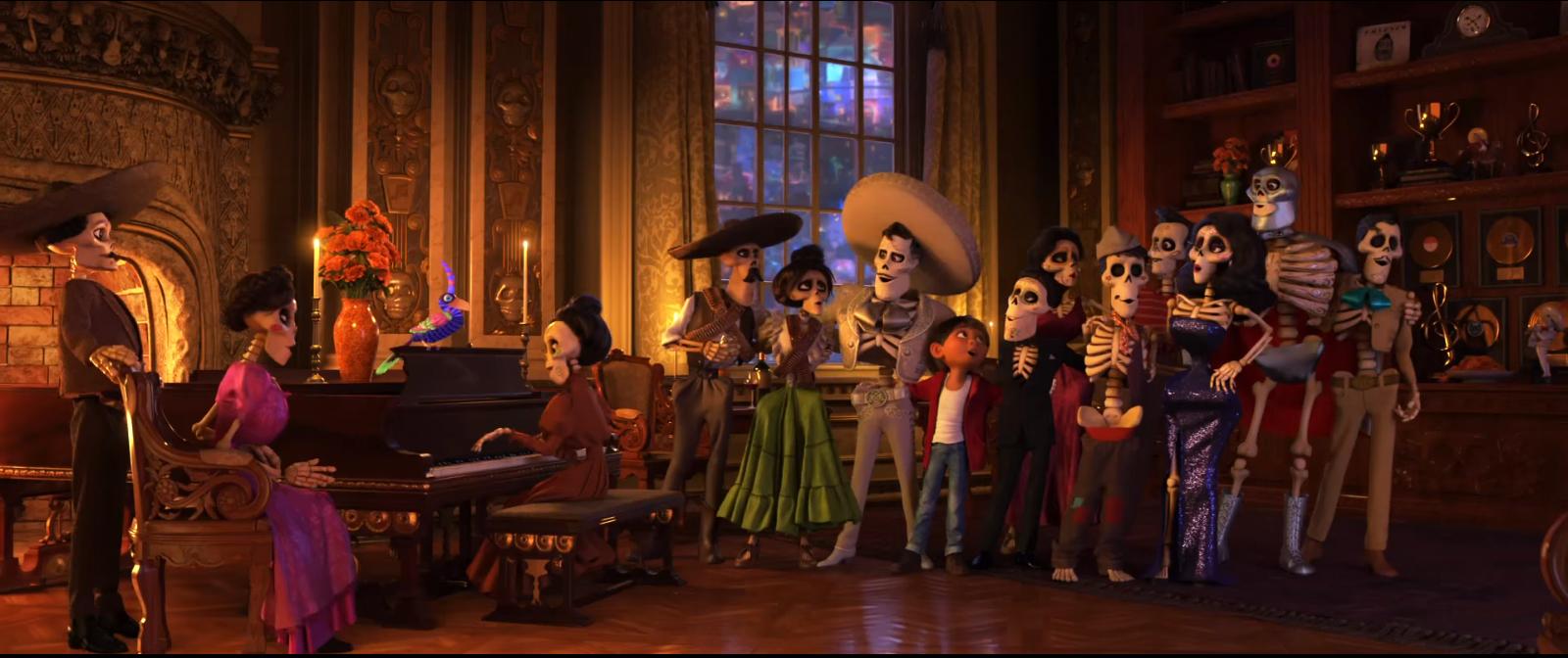 Iconos mexicanos, Coco, disney Pixar – Voz Abierta