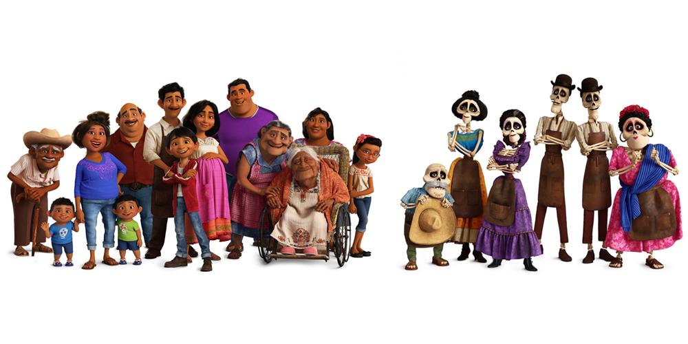 The whole Riviera family, Coco, Disney Pixar – Voz Abierta